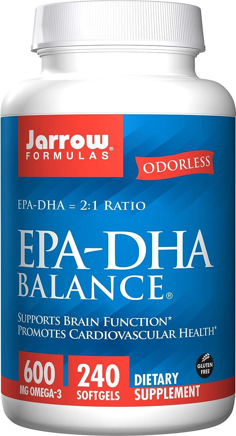 隔離するリブ特権的海外直送品Jarrow Formulas Epa-dha Balance, 240 Sftgels