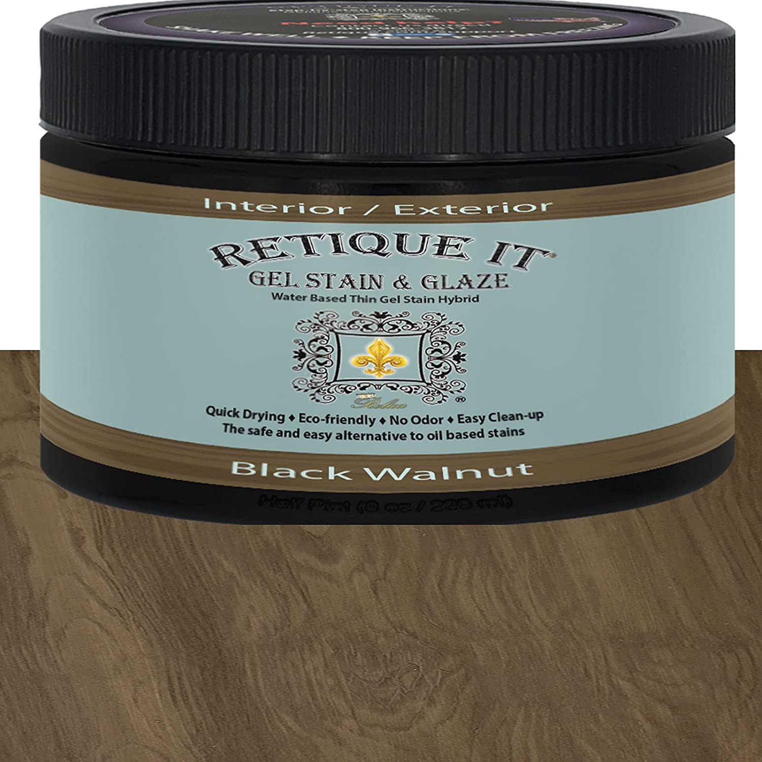 Gel Stain by Retique It, Water-Based Gel Stain/Paint Glaze and W