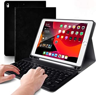 iPad 10.5 キーボードカバー Bluetoothキーボード&保護ケース脱着式 スマートスリープ スタンド機能付き 超軽量 磁石自動吸着 pencilホルダー付き iPad 10.5/iPad Air3/Pro 10.5通用 アイパッドカバー