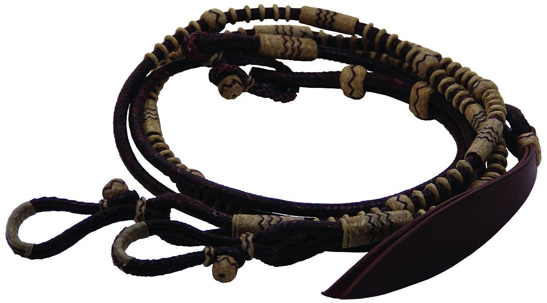Buffalo Leather 2 Tone Romel Reins