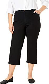 Women's Plus Size Capri Stretch Jean
