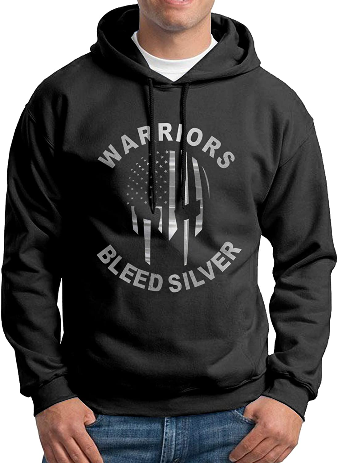 Correctional Officer Thin Silver Line man's Active 2021 new Sweatshirt lo Shipping included