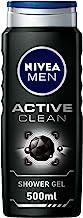 NIVEA, MEN, Shower Gel, Active Clean, 500ml