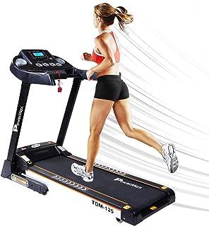 PowerMax Fitness TDM-125 (4HP Peak) Motorized Treadmill with Free Installation, 3 Years Motor Warranty, Android & iOS App ...