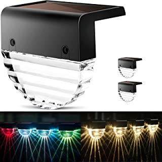 Solar Deck Lights -2 Pack