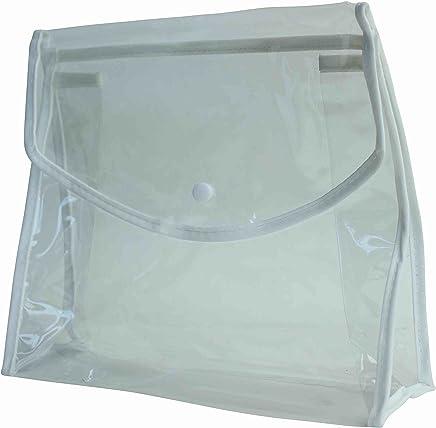 Paquete del bolso de PVC claro con Clip magnético para cosméticos y artículos de higiene personal y artículo 6, accesorio de viaje