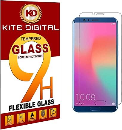 Kite Digital Honor View 10 Premium Tempered Glass Screen Protector Slim 9H Hardness 2.5D
