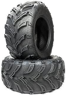 MILLION PARTS 2 ATV/UTV Tires 25x10-12 25x10x12 Rear 6PR