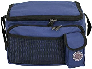 Transworld Durable Deluxe Insulated Lunch Cooler Bag (Many Colors and Size Available)..