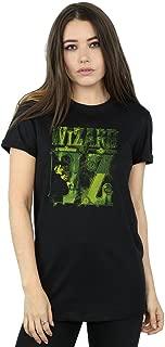 Wizard of Oz Women's Wicked Witch Logo Boyfriend Fit T-Shirt