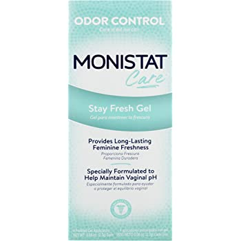 Monistat Care Stay Fresh Gel | 4 Pre-filled Applicators | Helps Maintain pH