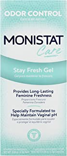 Monistat Care Stay Fresh Gel   4 Pre-filled Applicators   Helps Maintain pH