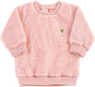 Conjunto Rosê Bebê Menina Pelo 38529-11