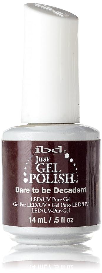 四半期ネックレス雑草IBD Just Gel Polish - Dare to be Decadent - 0.5oz / 14ml