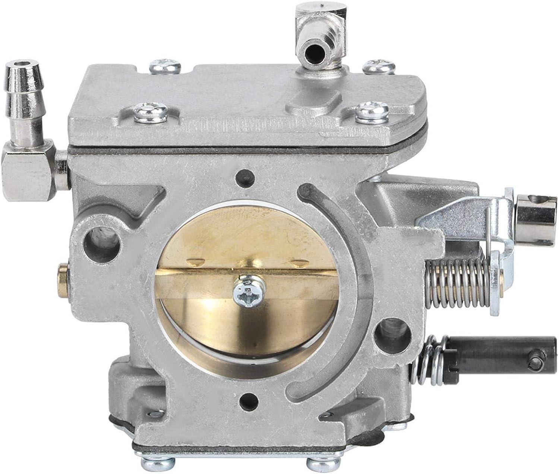 EVTSCAN Accesorio de carburador para cortacésped de jardín, Repuesto de carburador para WB-37 150CC-200CC, Duradero/Resistente al Desgaste/Resistente a la corrosión