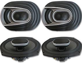 "4 x Polk Audio MM 6x9 Inch 3-way Car Audio Boat Motorcycle Ultra Marine Speakers 6x9"" photo"