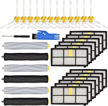 LhhTing Replacement Accessory Kit for iRobot Roomba 800 & 900Series 850 860 861 866 870 880 890 960 98012 Filter12 Side Br...