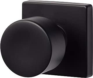 Sure-Loc Hardware BG100-SQ FBL Bergen Square Dummy Knob, Flat Black