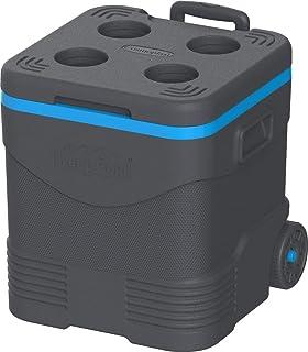 Cosmoplast MFIBXX121GY Keep Cold Picnic Trolley Ice Box 45 liter Grey