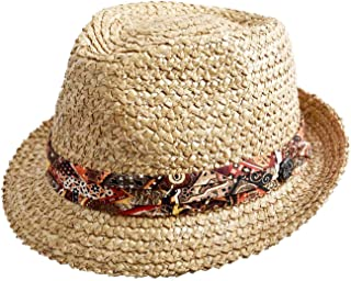 Stetson Vintage Wheat Trilby Straw Hat Women/Men |