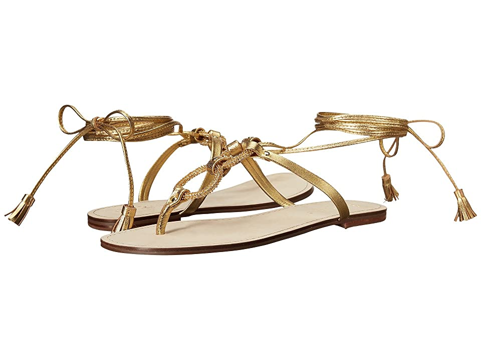 Lilly Pulitzer Lacey Sandal (Gold Metal) Women