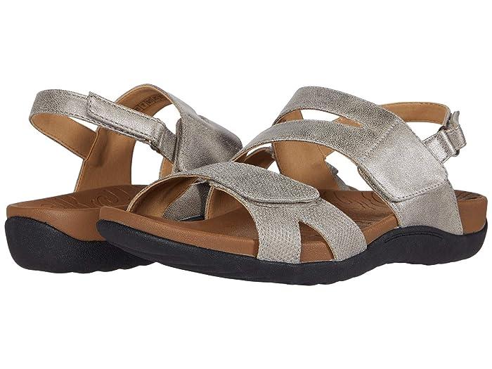 Rockport  Ridge Asymmetrical Strap (Metallic) Womens Sandals