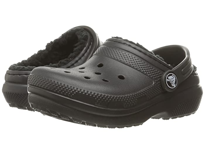 d54e40dc48 Crocs Kids Classic Lined Clog (Toddler/Little Kid) at Zappos.com