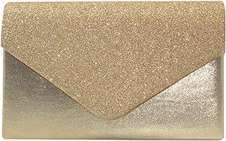 Wiwsi Female Glitter Style Handbag Envelope Evening Bridal Wallets Clutches Purse