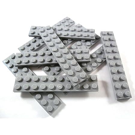 10 Lego Platte Platten 2x10 neu-hellgrau NEU 3832