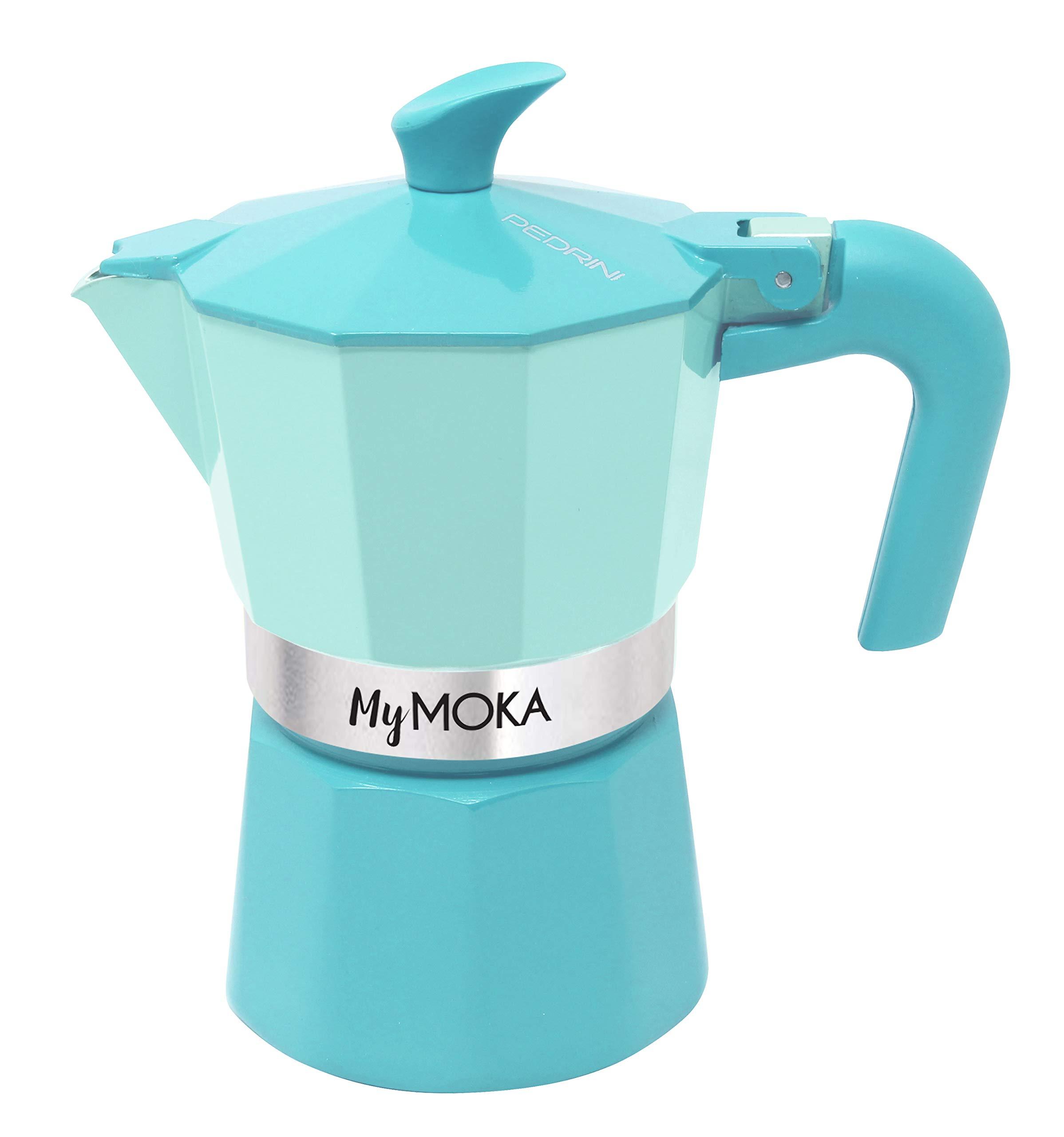 Pedrini mymoka Cafetera, beachblue: Amazon.es: Hogar