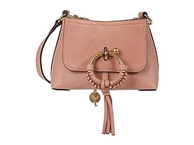 See by Chloe Joan Mini Hobo Leather Suede (Dawn Rose) Handbags