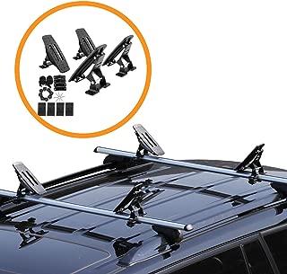 Onefeng Sports Saddle Kayak Roof Rack Canoe Mount Holder Cradle Boat Carrier for Most Car SUV Cross Bars