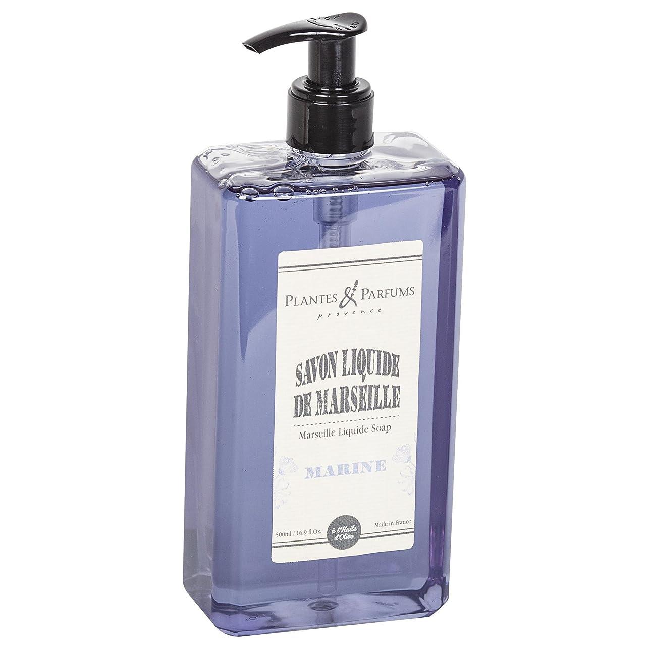 再現するプラカード現れるPlantes&Parfums [プランツ&パルファム] マルセイユリキッドソープ マリーン