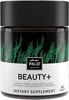 Beauty Premium Supplement with Biotin, Folic Acid, Vitamins A & D Plus Horsetail Nettle, Burdock and Red Cl...