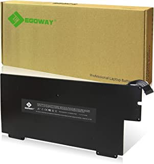 37Wh/5100mAh Replacement Battery A1245 A1237 A1304, Made for Early/Late 2008 Mid 2009 MacBook Air 13 inch