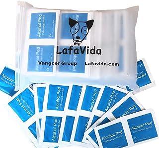 Fesjoy 100PCS Almohadillas de algod/ón esterilizadas desechables Limpieza de tel/éfonos m/óviles Toallitas de limpieza Toallitas sanitariasAlmohadillas de algod/ón esterilizadas desechables