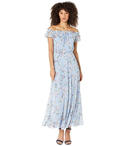 LAUREN Ralph Lauren Floral Georgette Off-the-Shoulder Dress Women