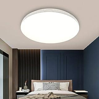 Plafonnier LED 24W Ketom Lampe de Plafond Blanche Neutre 4000K Rond Lampe Plafond IP44 2100LM Plafonnier Lampe pour salle ...