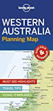 Lonely Planet Western Australia Planning Map [Idioma Inglés]