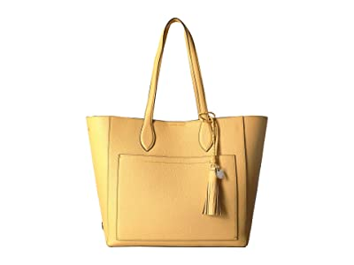 Cole Haan Piper Leather Tote (Sunset Gold) Tote Handbags