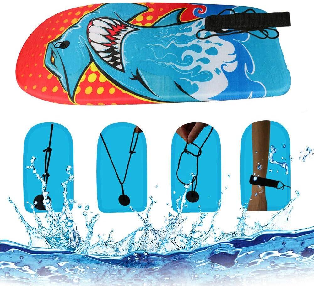 BIGTREE Bodyboard Kickboard Surfing Skimboard Wake Boogie Board Pool