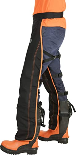 Oregon Pantalon de Protection Universel Type A pour Tronçonneuse, Pantalon de Protection Ajustable - Protection Front...