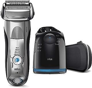 Braun Series 7 7898 cc - Afeitadora eléctrica para hombre de lámina , en seco y mojado, máquina de afeitar barba con estac...