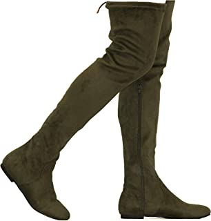 Shoes Womens Stylish Top Guy Adjustable Over The Knee Thigh High Boots