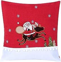 Świąteczna poszewka na poduszkę Drukowanie poszewki na poduszkę Poszewka dekoracyjna Poszewka na poduszkę z ukrytym zamkie...