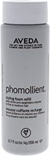Aveda Phomollient Refill Styling Foam Creates Body and Volume on Fine and Medium Hair.