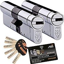 de cromo Cerradura cil/índrica de alta seguridad para puertas; hecha con pl/ástico ABS por Avocet