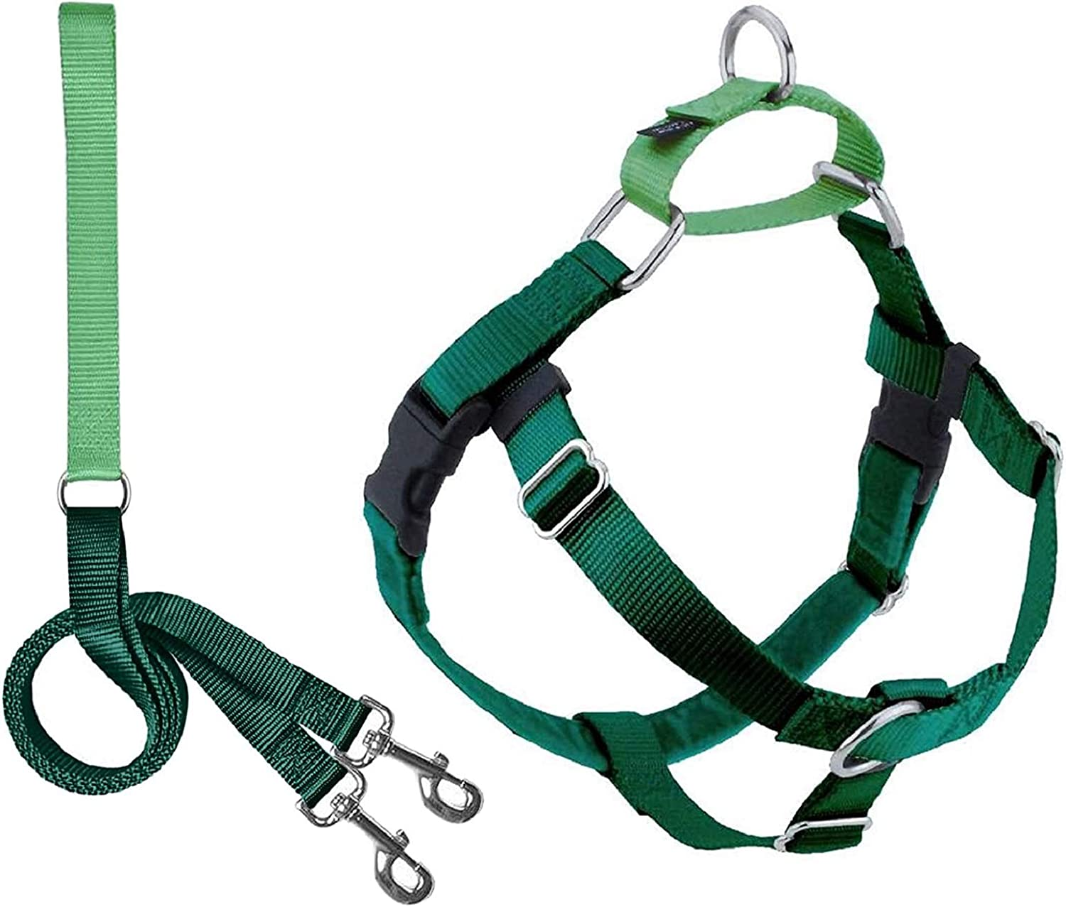 2 Hounds Design Freedom Free shipping anywhere in the Bargain sale nation No Adjustable Gentle Dog Pull Harness