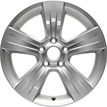 Partsynergy Replacement For New Aluminum Alloy Wheel Rim 17 Inch Fits 2011-2017 Jeep Patriot 5-114.3mm 5 Spokes