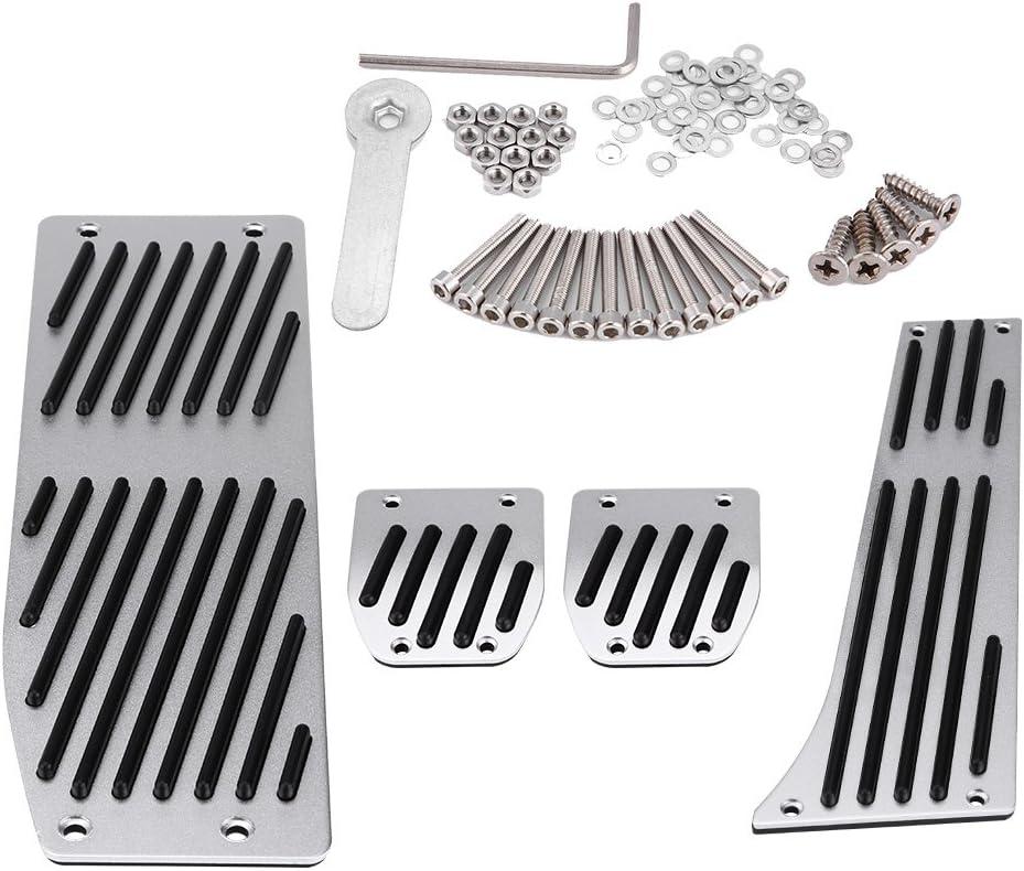 Car Foot Pedal Set 4pcs Long-awaited Clutch Manual Branded goods Transmission Brake Fo
